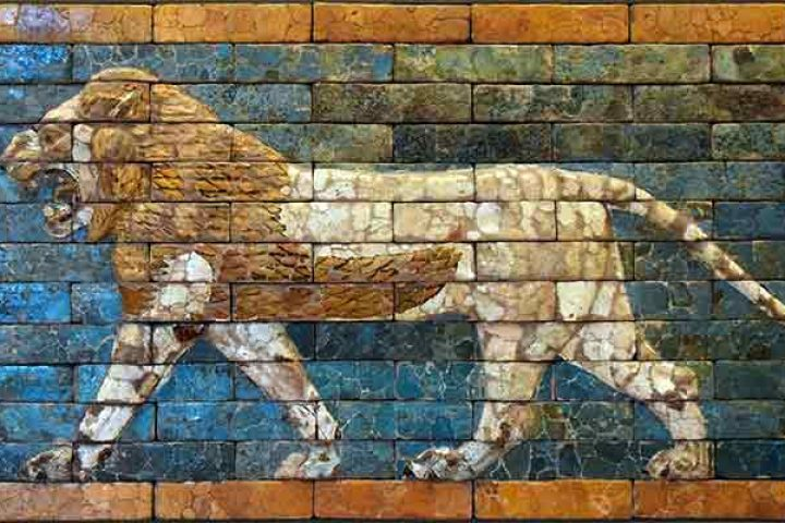 Babylon, lion