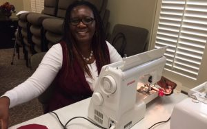 Sewing crafts for women's conference