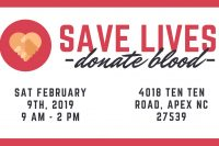 Save Lives - Donate Blood