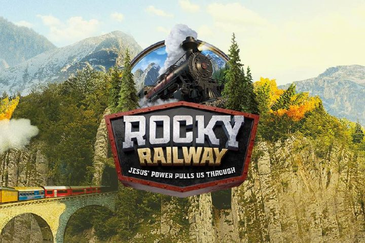 VBS - Rocky Railway banner